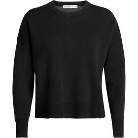 Icebreaker Carrigan Sweat-shirt Femme, black